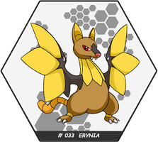 Mythmon: # 033 ERYNIA by pysio20