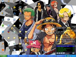 One Piece Desktop by lilly-peacecraft