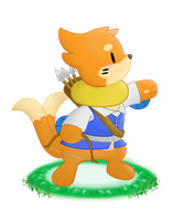 The Little Archer -WR- by BuizelCream