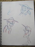 Prospector sketches by MiketheMike