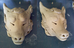 Kitsune Mask by Fantasytraveler