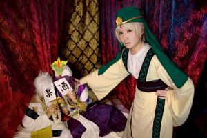 Alcohol ban - Magi The Labyrinth of Magic by greatcucurbita