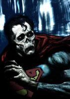 Zombie Superman by LiamSharp