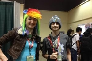 Rainbow Dash Cosplay by TurboBrycerox
