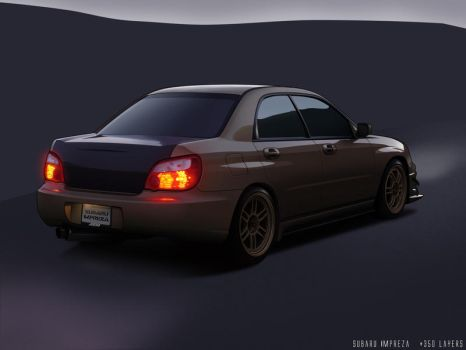 Subaru Impreza by Cop-creations