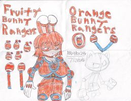 FBR:ORANGE BUNNY RANGER by RedWolf246