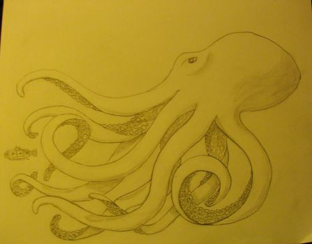 Octopus Design by MoonGoddessofCutlery
