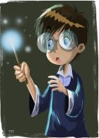 quick duddle while i watch harry potter by yen-wen-hsieh