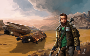 Elite Dangerous: CMDR Shallowgrave by KevinMassey