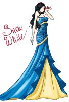 FAIRY TALE GIRLS PROJECT: Snow White by WeleScarlett