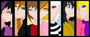 Vamped - The girls by TheJester5T33LC00K13