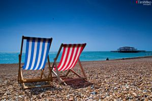 Brighton Beach by Tim-Wilko