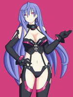 Hyperdimension Neptunia V - Iris Heart by somegu
