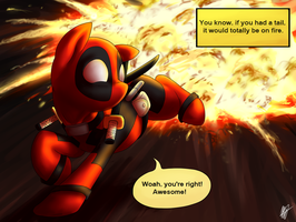 Deadpool Pony by MelvisMD