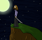 Collab:She Stands on a Hill... by AkariMMS