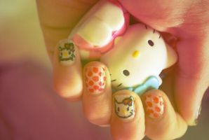 Kitty nails by Moets