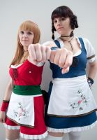 I am a Fighter: Hitomi and Leifang by Nandeena
