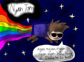 Nyan Tom by TVZRandomness