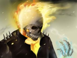 Ghost rider by limirina