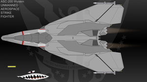 ASC-200 WYVERN UCAV by Jon-Michael-May