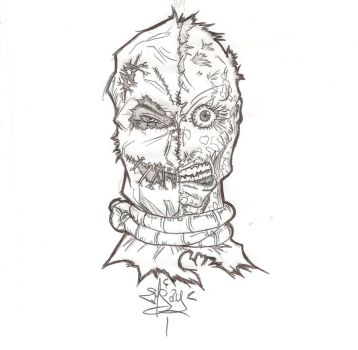 Scarecrow is Harvey Dent by EmSay