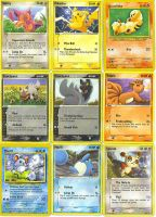 My Pokemon Cards 1 by Naruto-girl1