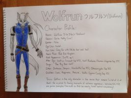 Wolfrun Tribute: Character Profile by Woody897