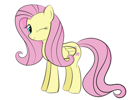 Fluttershy - Sai Practice by REPLAYMASTEROFTIME