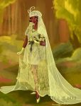 Wedding Dress: Tiana by ZheVickmeister
