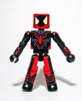 Spider-Man Unlimited Custom Minimate by luke314pi
