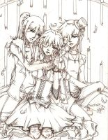 Vocaloids - Imitation Black by Aniteen9