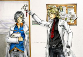 biology loves chemistry by YuzaiNo