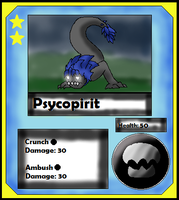 Pyscopirit Card (Adopt) by Dianamond