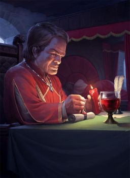 A Game of Thrones - Tyrion Lannister by wraithdt