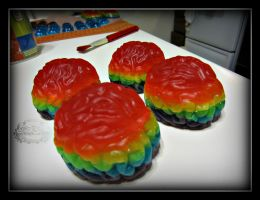 Gummi Brains by CrazedByCalliope