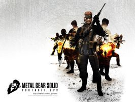 Metal Gear Solid-Portable Ops by Linux4SA