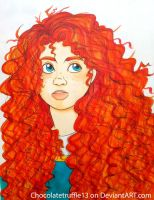 I AM MERIDA by Anto-the-Artist