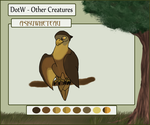 :DOTW: Asku the Falcon - RETIRED by SeleneTheWerewolf