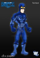 DCU - Blue Beetle - Ted Kord by TheoSar