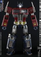 Optimus Prime MP-10 Repaint - Convoy Lives by xeltecon