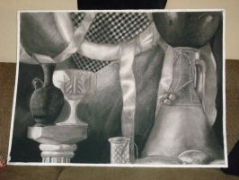 Charcoal Vases and Stuff by PrinzEugn