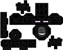 Enderman by hollowkingking