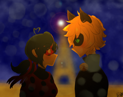Miraculous LadyBug- Chatbug by SilverBoy27
