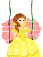 Lonely Belle by lena-yukime10