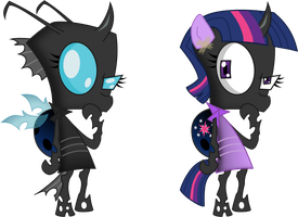 Obvious changeling is obvious by zimvader42