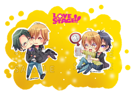 -- Love Stage Chibi Sets -- by Kurama-chan