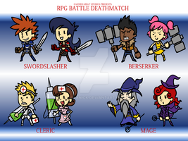 RPGBD - Class Set 1 by The-Knick