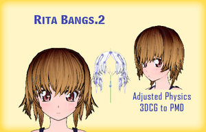MMD- Rita Bangs.2 -DL by MMDFakewings18