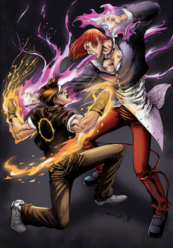 The King of Fighters by madmaxsol