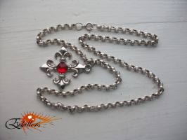 Vampire Night Necklace by Erkillers